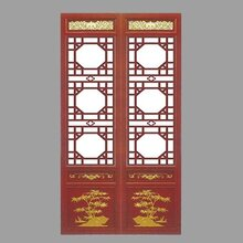 山西中式仿古门窗