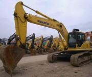 全国黑龙江工程完工,本人手上12台二手挖掘机急转手卡特小松挖土机图片
