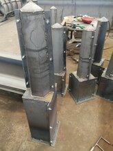 预制界碑钢模具的制作说明图片
