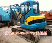 萧宽工程机械华东最大二手挖掘机交易市场图片