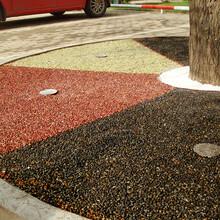 天然聚合物砾石混凝土打造环保地坪图片