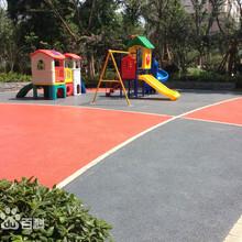 杭州彩色透水地坪、环保地坪-可持续发展的生态城市图片