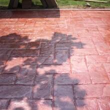 江西砾石聚合物-艺术洗砂地坪找景琪地坪厂家免费提供技术指导图片