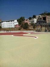 吉林通化砾石聚合物仿石地坪----艺术地坪实力厂家图片
