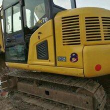 上海二手挖掘机小松130低价转让图片