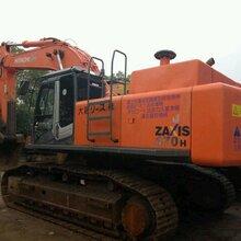 上海二手挖掘机市场日立二手挖掘机日立470挖掘机出售全国包运输图片
