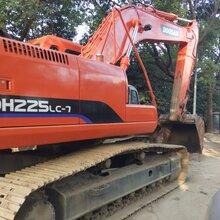 让转二手挖掘机二手斗山挖掘机220新图片及参数上海萧宽工程机械有限公司