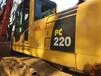 二手挖掘机市场前景二手小松挖掘机220-8价格上海萧宽工程机械有限公司