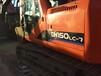 二手挖掘机二手斗山挖掘机150LC-7车况非常好耐用保值价格便宜上海萧宽二手挖掘机