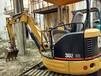 購二手小型挖掘機二手卡特挖掘機303小機型大用場上海蕭寬