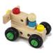 炫星玩具城玩具租赁多功能木质制拆装百变螺丝车