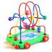 炫星玩具城玩具租赁木制大号绕珠智力拖车绕珠