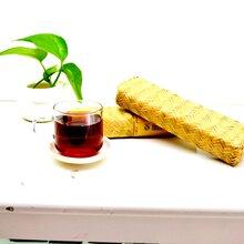 邛崍黑茶御露春--竹編茶圖片