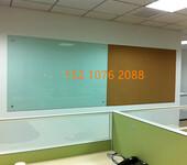 北京玻璃白板直销磁性超白玻璃白板定做尺寸办公写字板