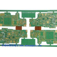 高难度八层PCB线路板高精密主板保护板pcb8层电路板多层pcb电路板图片