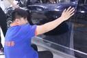 石家庄(强生)隐形车衣授权店宝马328GT漆面贴透明保护膜新车车漆保护必备