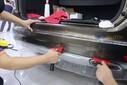 为什么要贴隐形车衣?石家庄宝马X5全车进口江森车身保护膜隐形车衣透明