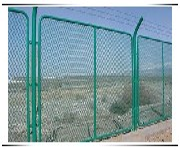 金科防眩网定做钢板网护栏图片