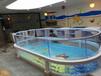 萌贝湾婴儿游泳设备厂家直销,钢化玻璃池婴儿游泳池