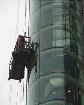 株洲江高玻璃幕墙制作改开窗维修换胶