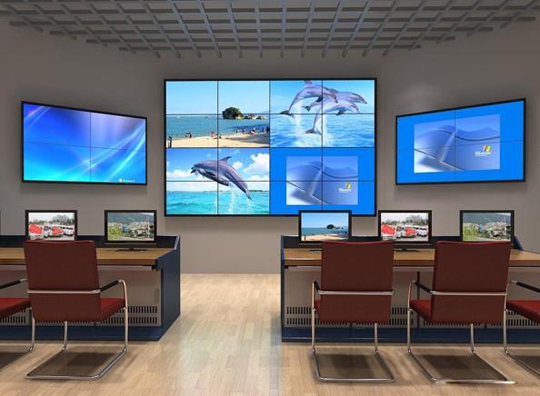 中山46寸无缝拼接屏大屏幕电视墙厂家杰信拼接屏配件性价比最高