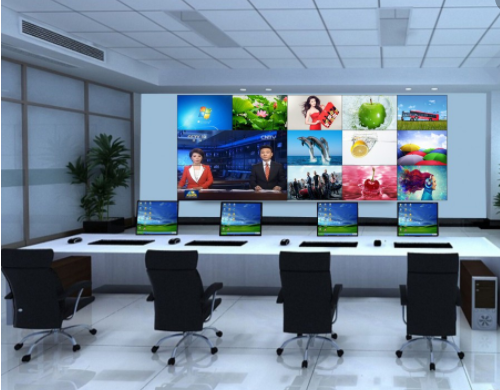 宜春55寸液晶拼接屏大屏幕电视墙厂家杰信拼接屏产品量大从优