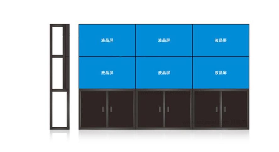 苏州49寸节能拼接屏大屏幕电视墙显示屏厂家杰信拼接屏产品安全可靠