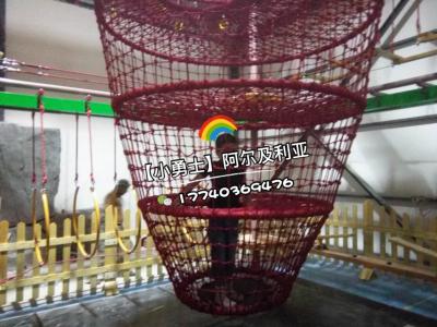 厂家定做室内儿童主题乐园拓展闯关设备商场大型游乐设施