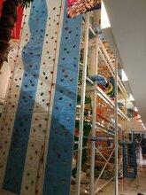 国内首套十米高攀登架,四层拓展项目,儿童游乐设施图片
