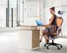 现代简约班台,板式办公桌E1环保办公桌