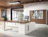 板式辦公桌材質,環保班臺尺寸與規格