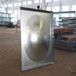 山西大同左云縣廠家直銷熱鍍鋅水箱鍍鋅鋼板水箱組合式鍍鋅水箱鍍鋅消防水箱