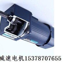 鹤壁迈传微型齿轮减速电机200W中实轴直角减速电机工厂直销图片