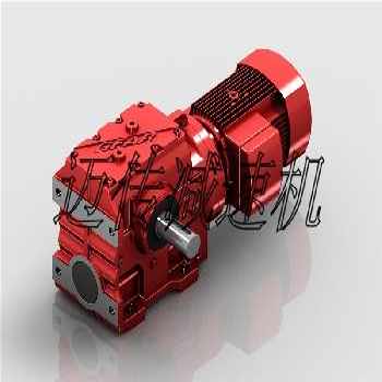 蜗轮斜齿轮减速机-S系列斜齿轮蜗轮蜗杆减速机找迈传更