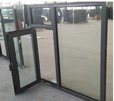 河北宏安厂家直销断桥铝合金防火窗,钢化玻璃乙级防火窗