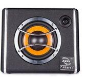 凯跃6寸带高音皮革梯形汽车有源低音炮汽车音响改装大功率音箱工厂直销