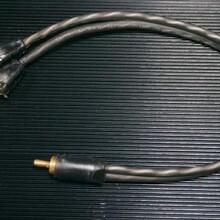 声界汽车音响用品电线电缆音频线3.5一分二音频线的批发价格多少