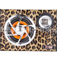 厂家直销汽车音响改装升级JD-6FB6寸带高音皮革低音箱促销中