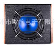 厂家直销凯跃KY-1002汽车音响改装10寸皮革汽车音响低音炮改装图片