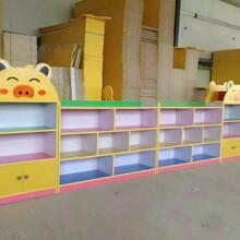 2017河南幼教玩具幼儿园彩色储物柜防火柜图片