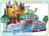 大型儿童充气滑梯充气气包充气城堡最新规格款式图片大全