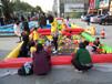 户外新款小本赚钱项目——充气沙池,孩子玩沙的好处