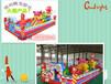 郑州腾龙游乐供应大型儿童充气气包新颖有趣的充气城堡