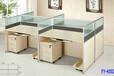 办公家具职员办公桌4人位卡座屏风隔断工作位办公桌椅组合员工位