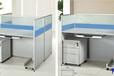 体会一种尊崇感受:蓝格定制全新办公桌隔断卡座电销工位员工桌办