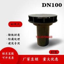 铸铁87型雨水斗虹吸式雨水斗厂家直销品质保证图片
