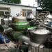 低价出售二手2000L不锈钢反应釜、直径SS400型三足离心