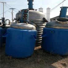 二手不锈钢反应釜出售价格,二手10吨不锈钢反应釜回收