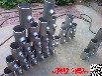 中卫∅558碳钢热压三通专业制造_坤航等径三通、异径三通尺寸精准