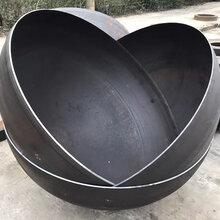 Q235碳钢球型封头管帽坤航尺寸一应俱全图片